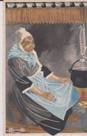 C P A HOMUALK EN PARCOURANT LA BRETAGNE PLOUGASTEL SÉRIE  1  N° 23 - Homualk