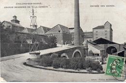Marne : Chalons Sur Marne : Grande Brasserie  De La ''Comète'' - Châlons-sur-Marne