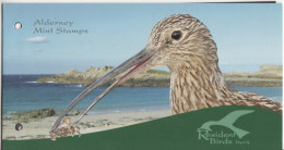 ALDERNEY ( GUERNSEY POST) 2009 MARINE BIRDS- PRESNTATION PACK-OISEAUX MARINS-CUISSARDES-MARINE VÖGEL WATVÖGEL
