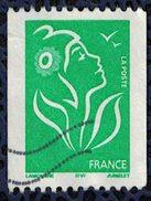 France 2005 Oblitéré Used La Marianne De Lamouche Pour Roulette Verte SVF Y&T 3742 - 2004-08 Marianne De Lamouche