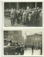 Photographie 57 Metz  Liberation Lot 2 Photos De Gaulle Giraud Dody Chars - Guerra, Militares