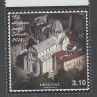 CROATIA , 2016, MNH , TOWN OF SIBENIK, CATHEDRAL, ARCHITECTURE, 1v