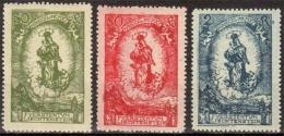 Liechtenstein MiNr. 40/42 ** 80. Geburtstag Von Fürst Johann II