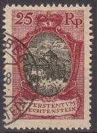 Liechtenstein MiNr. 54 B O Landschaften