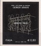 2015 Italien Mi. 3784 **MNH  40 Jahre Giorgio Armani. - 6. 1946-.. República