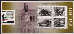 2015 Italien Mi. Bl 74 **MNH  100. Jahrestag Des Ausbruchs Des Ersten Weltkrieges - 6. 1946-.. República