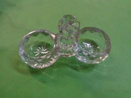 Saliere H 6 Cm Longeur 11 Cm Cm Signature Baccarat Depose - Glass & Crystal