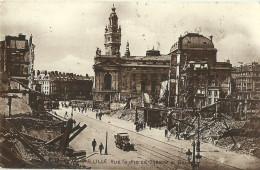 Lille Rue Faidherbe Theatre Et Bourse - Lille