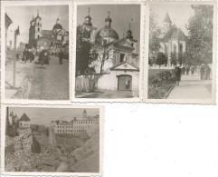 1940/41 - GRODNO, 4 Orginal Foto 9X6cm, 6 Scan - Belarus