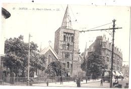 Dover - St Mary's Church & Street Scene - Dover
