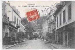 CONDAT EN FENIERS - La Grand'Rue - Condat