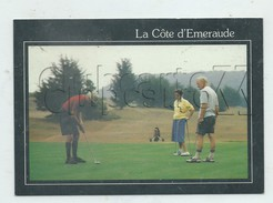 Saint-cast-le-Guildo (22) : GP De Golfeurs Sur Le Green  Env 1980 (animé) GF. - Saint-Cast-le-Guildo