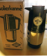 SUPER THERM ISOLIERKANNE ROSALIN STARKGLAS, VINTAGE RETRO Aus Den 70er JAHREN; Garantiert NEU ! 1 Liter - Teapots