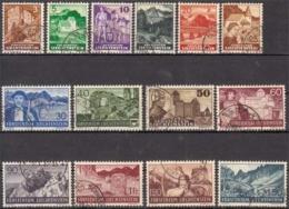 Liechtenstein MiNr. 156/69 O