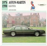"""Auto Da Collezione """"Aston-Martin  1976   Lagonda"""" (Gran Bretagna) - Motori"""