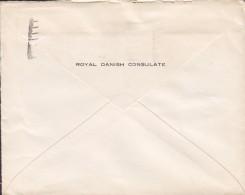 Great Britain ROYAL DANISH CONSULATE, BRISTOL 1936 Cover Brief Denmark 2½d. GV. Stamp (2 Scans) - Briefe U. Dokumente
