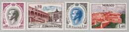 MONACO 1971 - SERIE N° 847 A 850 - 4 TP NEUFS** - Monaco