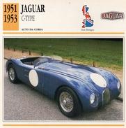 """Auto Da Collezione """"Jaguar  1951   C-Type"""" (Gran Bretagna) - Motori"""