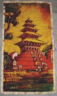 Déco Tenture Chinoise En Tissus Neuf  89 X 49 Cm - Asiatische Kunst