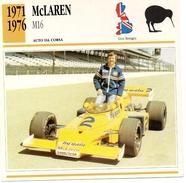 """Auto Da Collezione """"McLaren  1971   M16"""" (Gran Bretagna) - Motori"""
