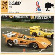 """Auto Da Collezione """"McLaren  1968   M8"""" (Gran Bretagna) - Motori"""