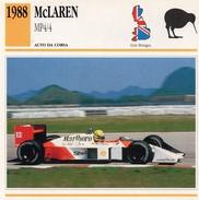 """Auto Da Collezione """"McLaren  1988   MP4/4"""" (Gran Bretagna) - Motori"""
