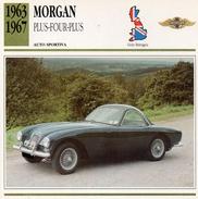 """Auto Da Collezione """"Morgan  1963   Plus-Four-Plus"""" (Gran Bretagna) - Motori"""