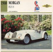 """Auto Da Collezione """"Morgan  19638  Plus 8"""" (Gran Bretagna) - Motori"""
