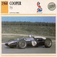"""Auto Da Collezione """"Cooper  1960   T53"""" (Gran Bretagna) - Motori"""