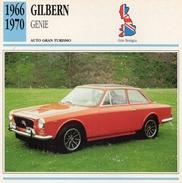 """Auto Da Collezione """"Gilbern  1966   Genie"""" (Gran Bretagna) - Motori"""