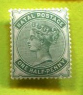 NATAL 1885 1/2D  1v  Superb/ LUXE ** - South Africa (...-1961)