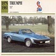 """Auto Da Collezione """"Triumph  1975   TR7"""" (Gran Bretagna) - Motori"""