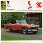 """Auto Da Collezione """"MG  1961   Midget"""" (Gran Bretagna) - Motori"""
