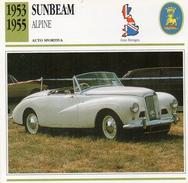 """Auto Da Collezione """"Sunbeam  1953   Alpine"""" (Gran Bretagna) - Motori"""