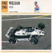"""Auto Da Collezione """"William  1982   FW08"""" (Gran Bretagna) - Motori"""
