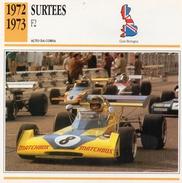 """Auto Da Collezione """"Surtees  1972   F2"""" (Gran Bretagna) - Motori"""