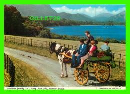 KILLARNEY, IRELAND - TRADITIONAL JAUNTING CAR TOURING LOWER LAKE - ANIMATED - JOHN HIDE ORIGINAL No 2/4 - - Kilkenny