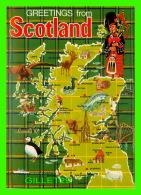 CARTE GÉOGRAPHIQUE - MAPS FROM SCOTLAND -LEVY BROTHERS No 2SC132 - - Cartes Géographiques