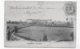 ST JODARD EN 1903 - SEMINAIRE - BEAU CACHET- CPA VOYAGEE - Frankreich
