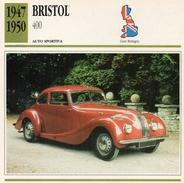 """Auto Da Collezione """"Bristol  1947   400"""" (Gran Bretagna) - Motori"""