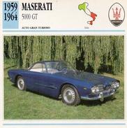 """Auto Da Collezione """"Maserati  1959  5000 GT"""" (Italia) - Motori"""