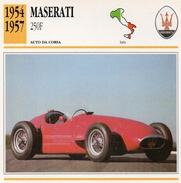"""Auto Da Collezione """"Maserati  1954  250F"""" (Italia) - Motori"""
