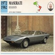 """Auto Da Collezione """"Maserati  1972  Khamsin"""" (Italia) - Motori"""