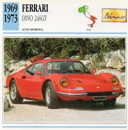 """Auto Da Collezione """"Ferrari 1969  Dino 246GT"""" (Italia) - Motori"""