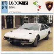 """Auto Da Collezione """"Lamborghini 1970  Jarama"""" (Italia) - Motori"""