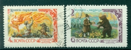 Russie - USSR 1961 - Michel N. 2480/81 - Contes De Fées Et Contes Folkloriques R