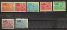 Cina 1949 Liberation Army 5 Stamps Mnh And 2 No Gum - Neufs