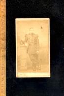 Photographie Carte De Visite CDV : Militaire Soldat 8.? Eme Regiment Photographe CHAPELLE Rue Gd Prieuré & Crussol PARIS - Guerre, Militaire