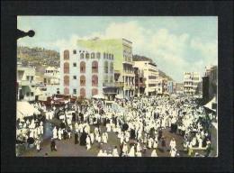 Saudi Arabia Old Picture Postcard Small Satan Devil Mina Islamic View Card Used In 1965  AS PER SCAN