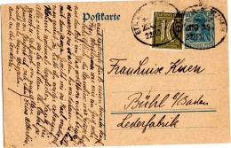 CP De Ettlingen Pforzheim (22.10.1921) - Allemagne